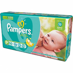 Fralda Pampers Total Confort Mega P Kit Com 150 Unidades