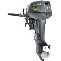 Motor De Popa Yamaha 15 Hp Gmhs 2017 Modelo Novo