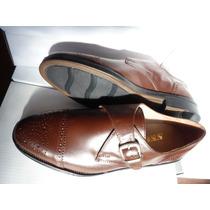 Zapato Vestir Cuero Con Hebilla Oferta En Ctas. S/i.!!!!!