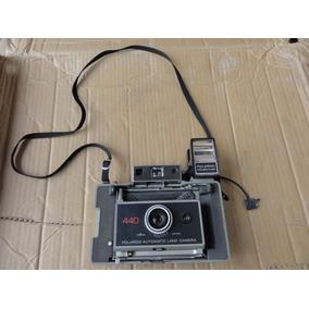 Máquina Fotográfica Polaroid 440 - Vintage