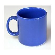2 Caneca Azul Cerâmica Scalla 325 Ml