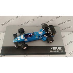 Lendas Brasileiras 35 Ligier Js21 Raul Boesel Gp Belgium1983