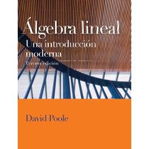 Libro: Álgebra Lineal: Una Introducción Moderna - Pdf