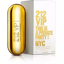 Perfume Carolina Herrera 212 Vip Feminino 80ml Original