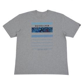 Camiseta Masculina Quiksilver Stringer Linha Big