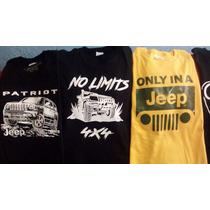 Playera Jeep, 4x4 , Off Road, Land Rover, Envio Gratis
