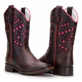 Bota Country Feminina Texana Rodeio Lançamento Capelli Boots