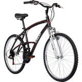 Bicicleta Caloi 100 Sport Masculina Aro 26 21 Marchas-preto
