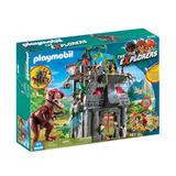 Playmobil Dinosaurio T- Rex Con Campamento Explorers Nuevo