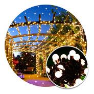Guirnalda Luces Led 28 Bolitas 3 Metros Rgb Muticolor 220v Navidad