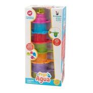 Brinquedo De Encaixe Pega Agua Colorido - 3007 Calesita