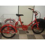 Tricicleta Triciclo Adulto Bicicleta 3 Tres Ruedas Ituzaingo