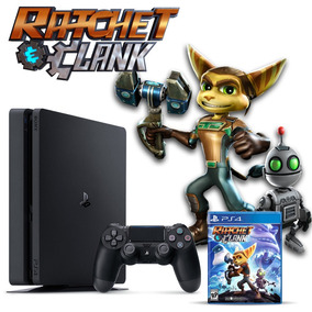 Playstation 4 Slim 1 Tb + Ratchet & Clank, Macrotec