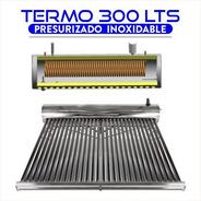 Termotanque Solar 300 Lts Presurizable De Acero Inoxidable