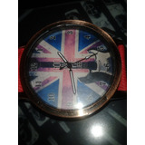 Relógio Uk Union - Importado - God Save The Queen Brit Rock