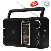 Gadgetfacil - Rádio Lenoxx 12 Faixas Am/fm/ondas Curtas E Tv