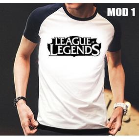Camisa/camiseta Raglan Gamer League Of Legends Lol