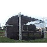 Tela Preta Proteção Palco Tenda Event Cobertura 10x4 Mts