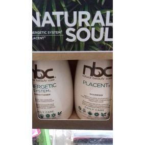 Nbc Natural Shampoo Placenta Y Acondionador Energisante