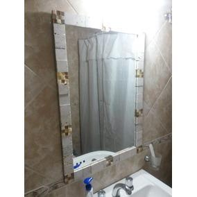 Espejo De Baño Con Piedras