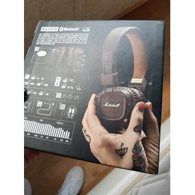 Fone Bluetooth Marshall Major Ii 2 Marrom Novo