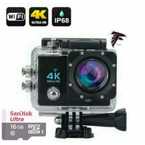 Câmera Sport 4k Cam Pro Wifi Prova Dágua + Cartao Sd 16gb