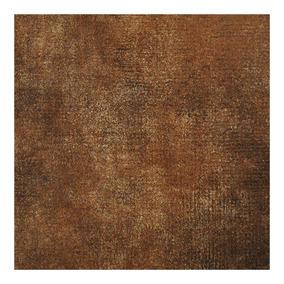 Cerámico Marrón Oscuro Rústico Alisado Satinado 45x45