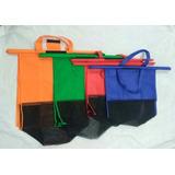 2 Trolley Bags X 4 Bolsas Cambrel Para Carro Mercado
