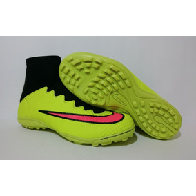 Chuteira Nike Mercurial Society Cano Alto Botinha Infantil