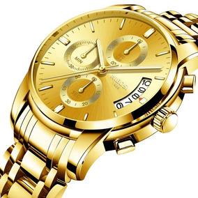 Relógio Nibosi Original Pronta Entrega À Prova D