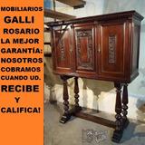Mobiliarios Galli Bargueño Bar Copero Estilo Colonial
