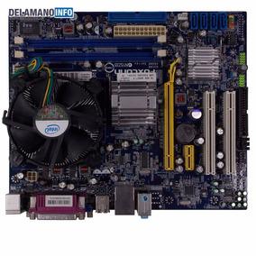 Kit Placa Mãe Foxconn G31mx Lga775 Ddr2 Processador (9582)