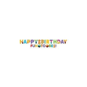 Sesame Street 1st Birthday - Kit Jumbo Banner Carta