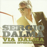 Cd Sergio Dalma Via Dalma Edicion Internacional Open Music