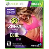 Zumba Fitness Core Xbox 360 Video Juego De Kinect