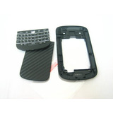 Blackberry Bold 9900 ~ Negro Back Door Medio De La Cubierta