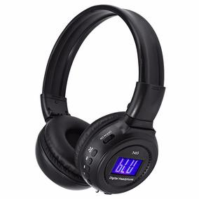 Fone Ouvido Headphone Sem Fio P2 Entrada Cartão Sd Mp3 Fm