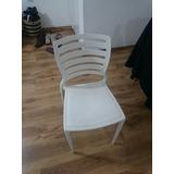 Cadeira Sofia Tramontina, 1 Branca E 1 Vermelha