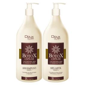 Doux Clair Escova De Argan Selafix Botox Capilar 2x1 Litro