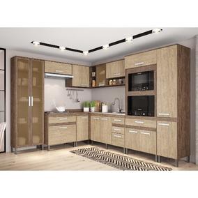 Cozinha Modulada Decibal New Concept 01 100%mdf Com 14 Porta