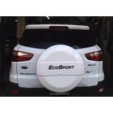 Cubre Rueda Ecosport Kinetic Rigida Design Blanco Brillante!