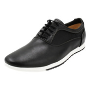 Zapato Vestir Formal Azul Café Negro Hombre Oficina (050)
