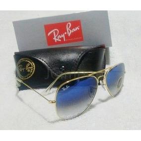 Óculos Rb3026 Com Lentes Uv400 E Armação Dourada