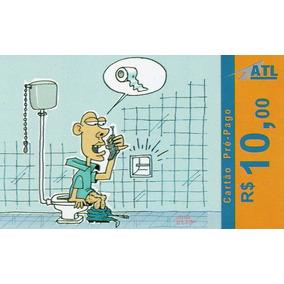 Cartão De Telefone Celular Atl Jan/2001 - Amarildo