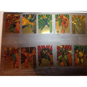 10 Cards Colecionáveis Marvel 1994 Suspended Animation