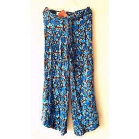 Pantalon Largo Hindu Playero Casual Dama Textil Calidad