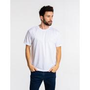 10 Camisetas Brancas Pv Malha Fria Poliéster Viscose Atacado