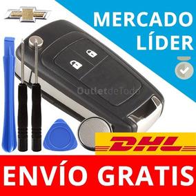 Carcasa Llave Control Autos Chevrolet 2 Botones Trax Cruze