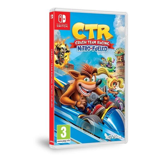 Crash Team Racing Nitro-fueled Nintendo Switch Juego Nuevo