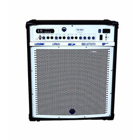 Caixa Multiuso Tb-500 Amplificador 100w Rms 12 Pol Turbox